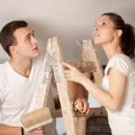 Как очистить потолок от побелки, краски, клея. Действенные способы и средства