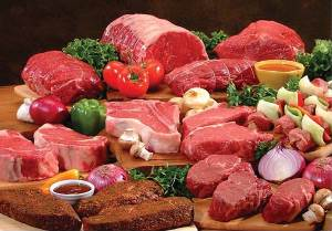 Белковая пища мясо