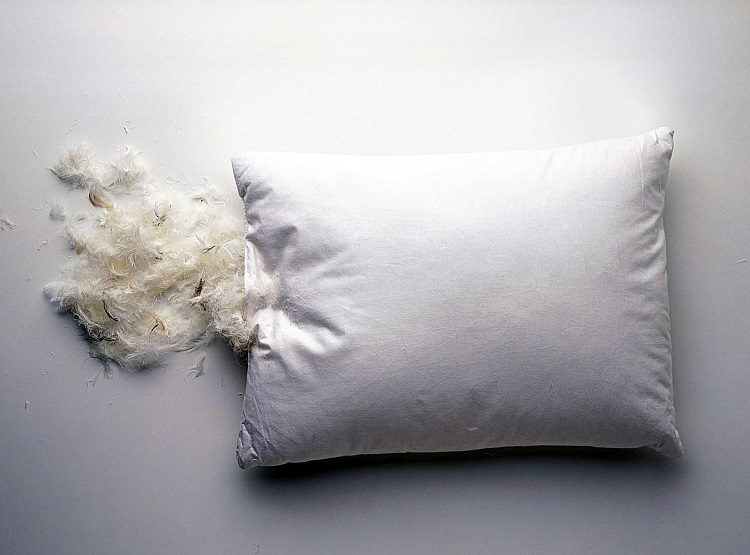 Можно ли стирать подушку на пуху
