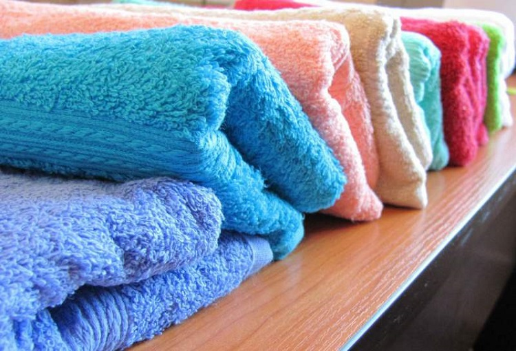 як випрати рушник