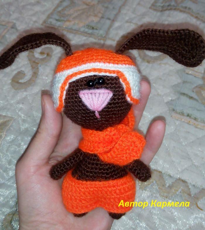 амигуруми зайчик
