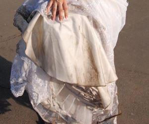 как отстирать платье