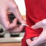 Как вывести жвачку с одежды: заморозить, прокипятить или растворить?