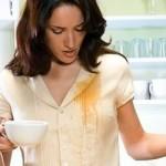 Как вывести пятно от чая подручными средствами