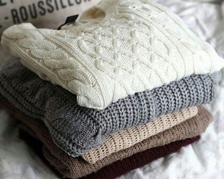 как стирать свитер из шерсти