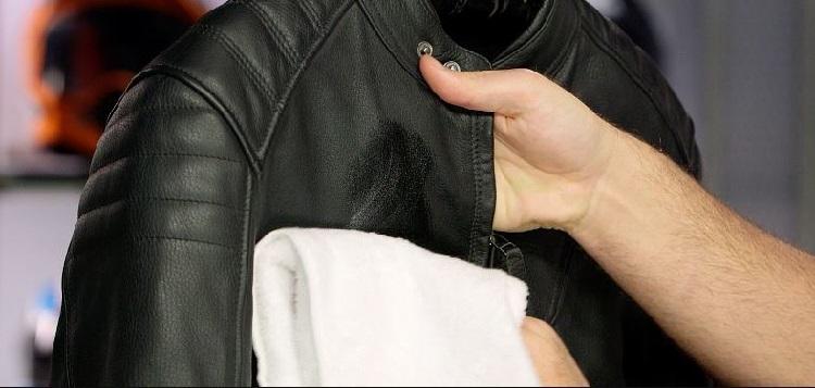 Як випрати шкіряну куртку