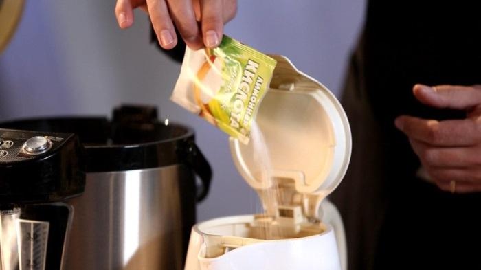 почистить накипь лимонной кислотой