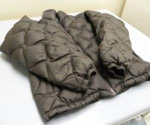 пуховая куртка черная