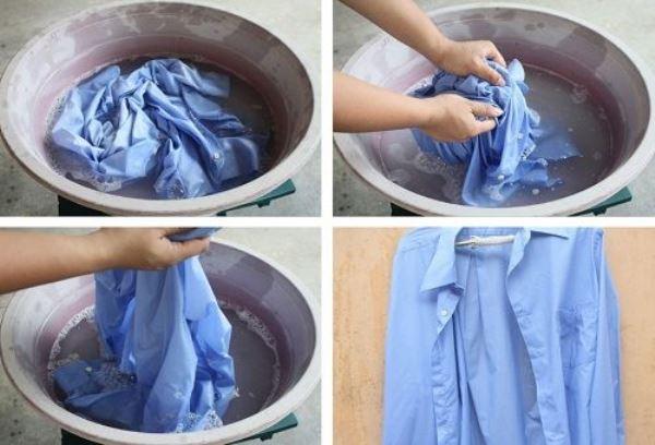 Как отстирать воротник и манжеты рубашки - Веселый дом