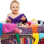 Як прати речі для новонароджених