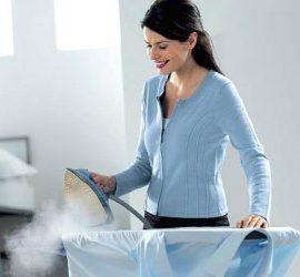 Как почистить паровой утюг в домашних условиях