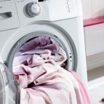 Як прати штори в пральній машині