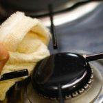 Як почистити решітку на газовій плиті