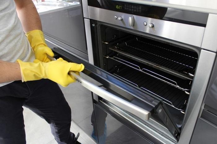 як очистити духовку від жиру в домашніх умовах