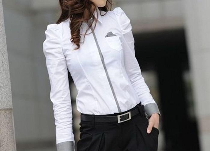 як відіпрати білу блузку