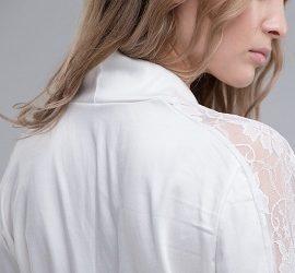 Как отстирать белую блузку и вернуть ей белизну