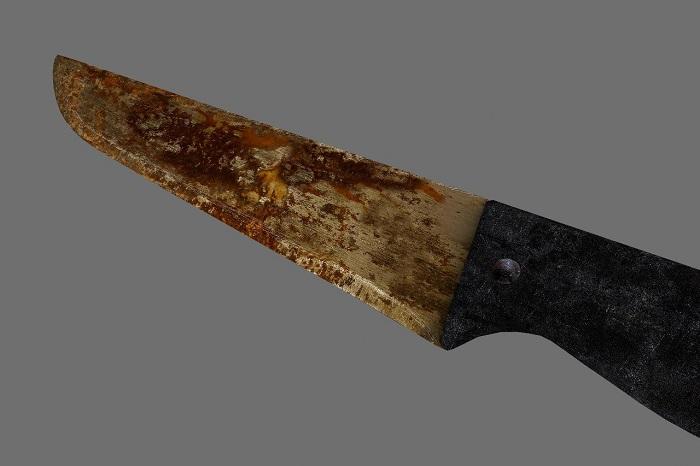 Как очистить нож от ржавчины