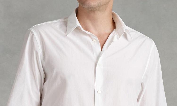 Как отстирать белую рубашку просто и действенно