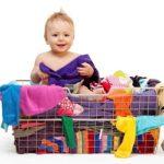 Как и чем стирать детские вещи для новорожденных