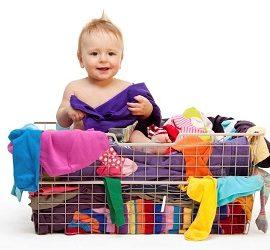 Чим прати речі для новонароджених