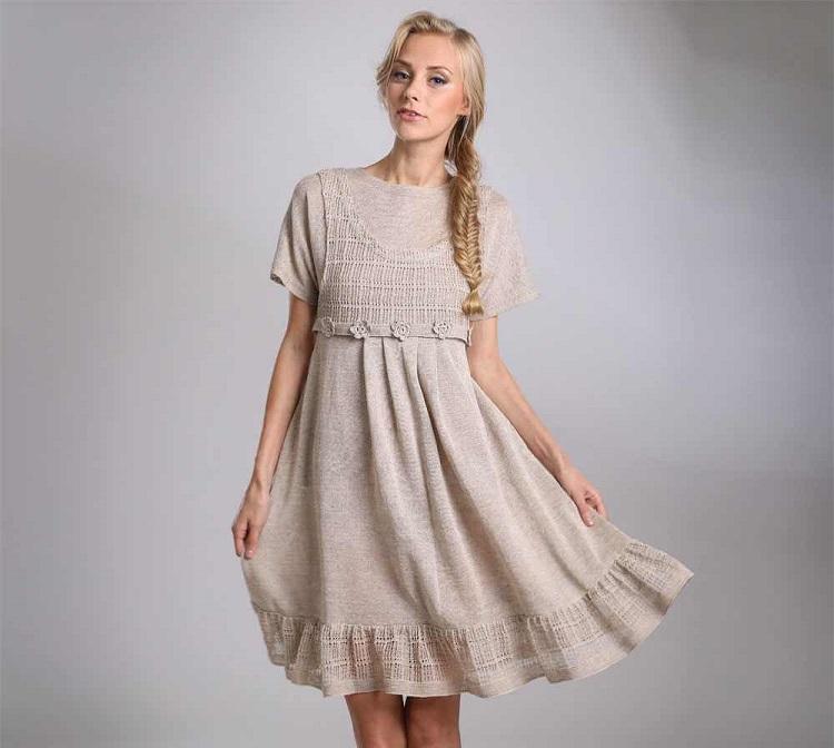 как стирать льняное платье