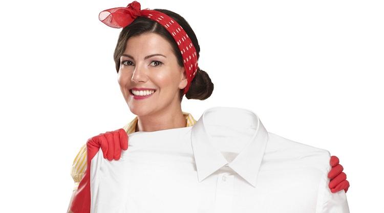 Як вивести іржаву пляму з білого одягу