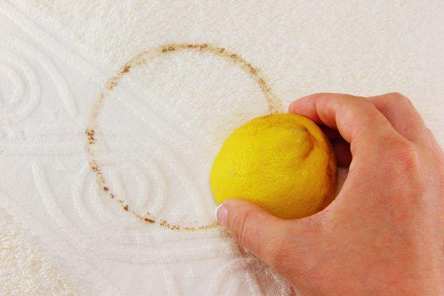 как отмыть пятно от чая