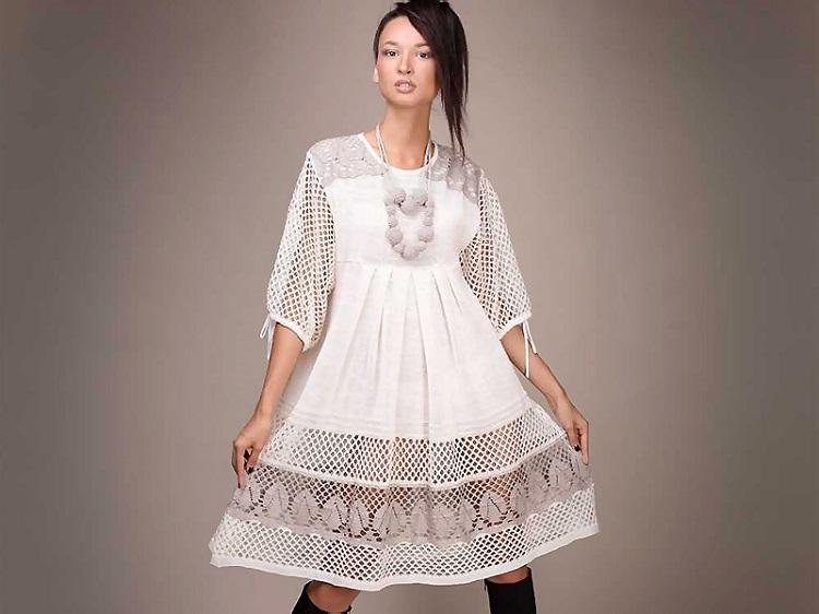 как постирать платье из льня