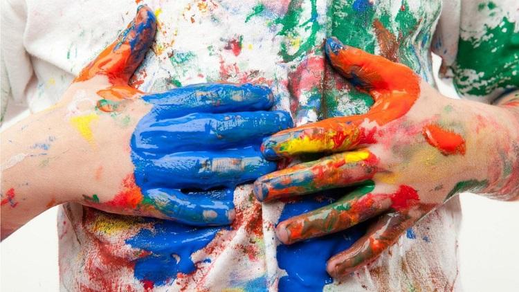 как вывести пятно масляной краски