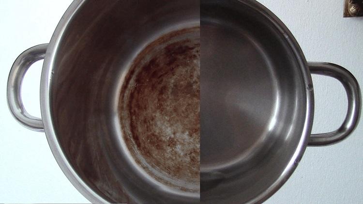 Чим почистити алюмінієву каструлю