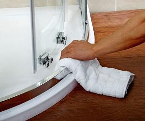 Як очистити душову кабіну