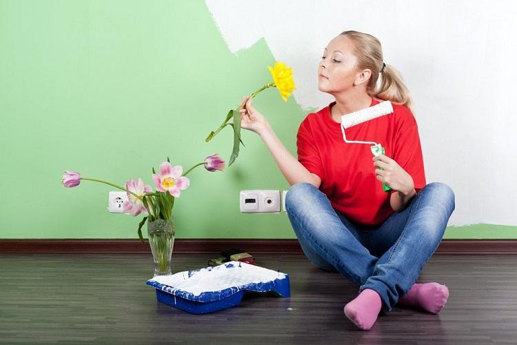 Як позбутися від запаху фарби