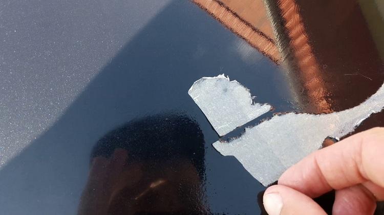 как удалить клей от наклейки