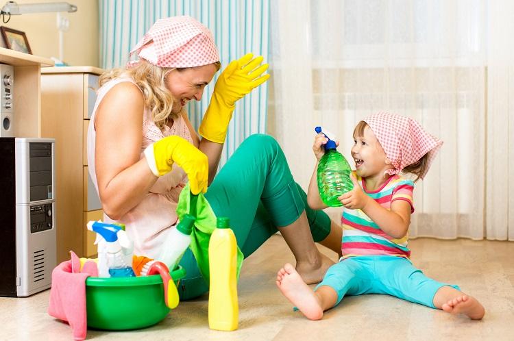 как почистить напольное покрытие