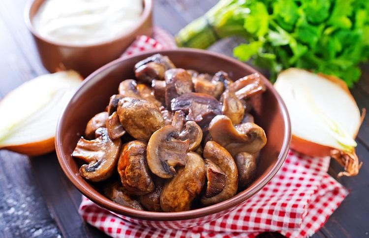 Скільки зберігати смажені гриби