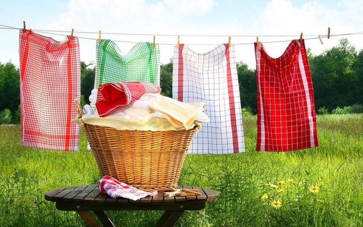 как отстирать жирные пятна на полотенце