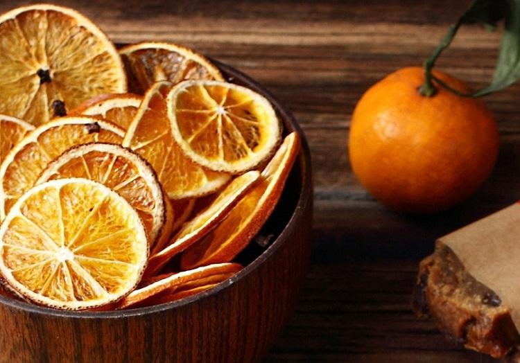 Як висушити апельсин для декору в домашніх умовах