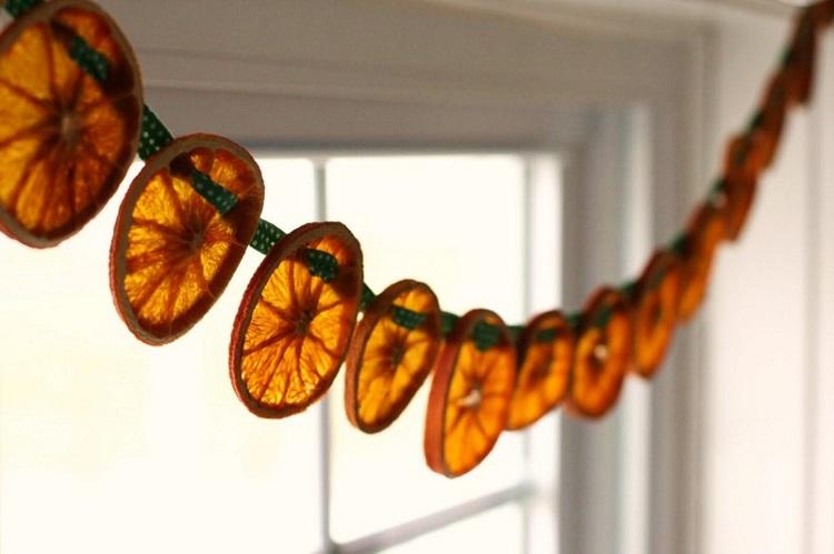 как сушить апельсины