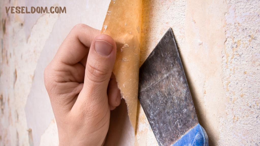 Як зняти старі шпалери зі стін