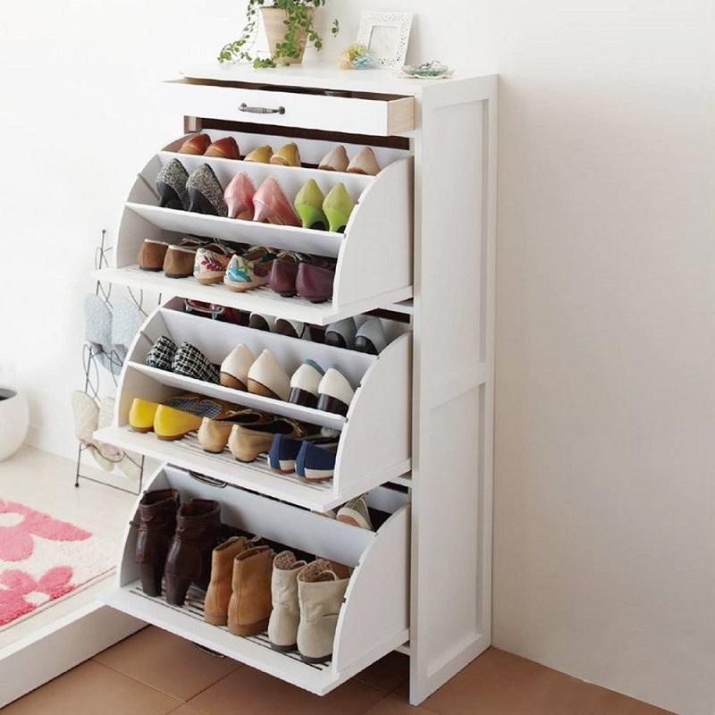 ідеї для зберігання взуття