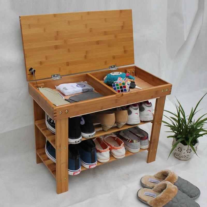 сидіння з місцем для взуття