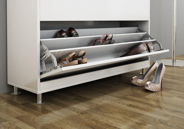 як зберігати взуття непомітно і компактно