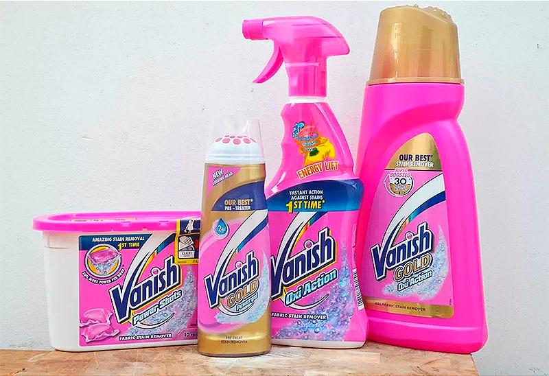 Як користуватися Ванішем (Vanish) правильно для прання та чищення