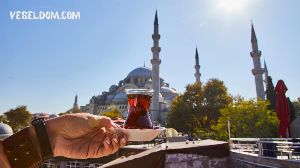 Турецькі склянки для чаю Армуди