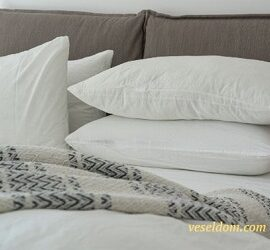 Як прати подушки з холлофайберу
